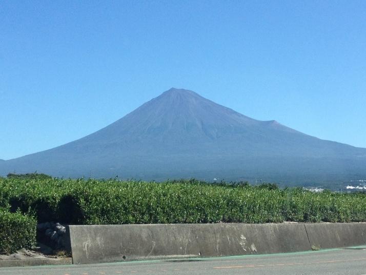 夏のアツアツ富士山
