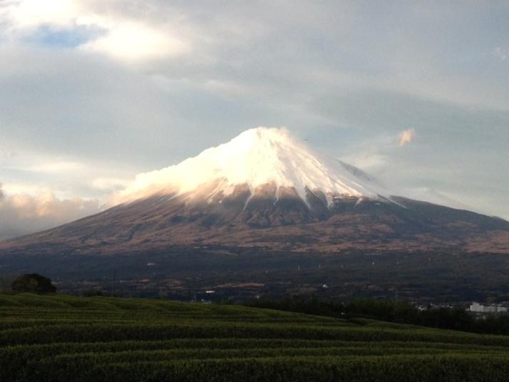 セピア色富士山